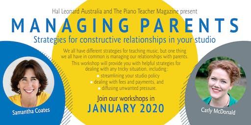 Managing Parents - Sydney