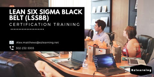 Lean Six Sigma Black Belt (LSSBB) Classroom Training in Moose Factory, ON