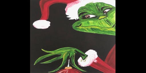 Merry Grinchmas: Paint Party
