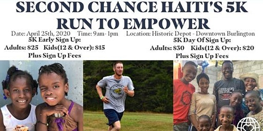 Second Chance Haiti's 5K: Run To Empower