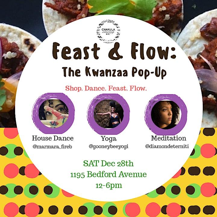 Feast & Flow: Kwanzaa Pop-Up image
