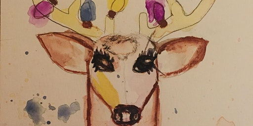 Los Olivos Wine & Watercolor Painting