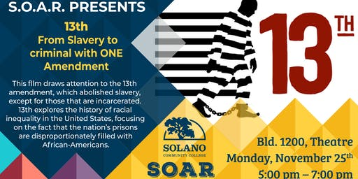 13th: From Slavery to Criminal in ONE Amendment