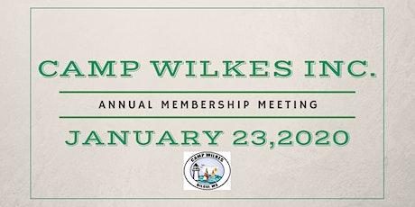 2020 Annual Membership Meeting tickets