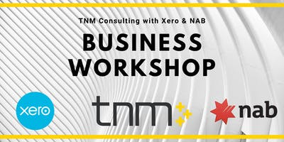 TNM Consulting with Xero & NAB Small Business Workshop in South Melbourne