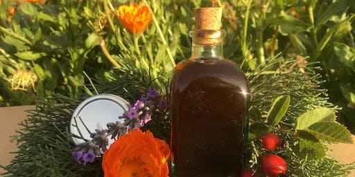 Herbal Holiday Gift Making