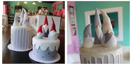 Gnome Cake Decorating Class
