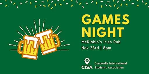CISA Game Night