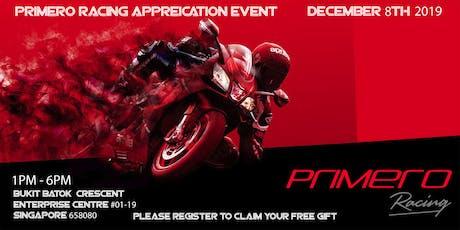 Primero Racing Appreciation Party tickets