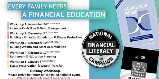 Financial Education Workshop-Tuesday