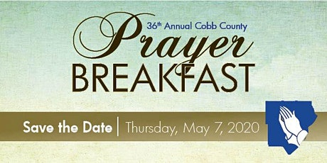 Cobb County Prayer Breakfast 2020 tickets