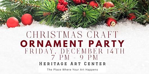 Christmas Ornament Party ::: Make 6 Unique Ornaments