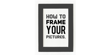 An Introduction to Picture Framing tickets