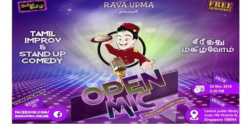 Tamil Improv & Standup comedy Open Mic - Nov 2019