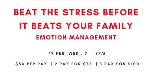 Beat The Stress Before it Beats Your Family