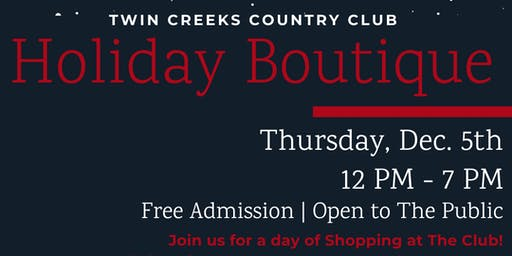 Holiday Boutique Event - Seven Majesty Boutique