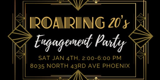 Roaring 20's Engagement Party