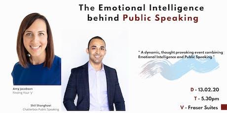 The Emotional Intelligence Behind Public Speaking tickets