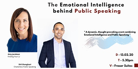 The Emotional Intelligence Behind Public Speaking tickets