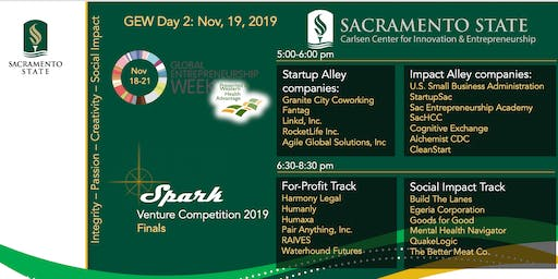 Showcase Sac and SPARK Venture Competition
