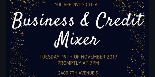 Business and Credit Mixer