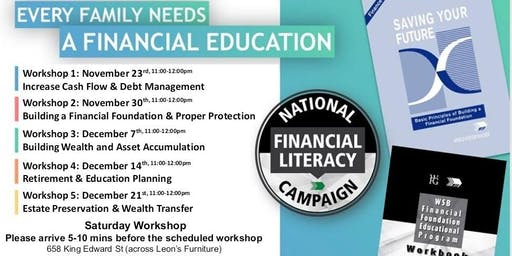 Financial Education Workshop - Saturday