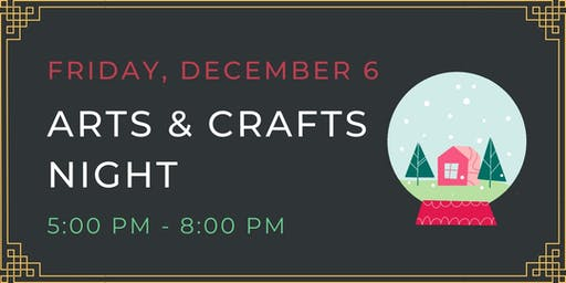 Moji Arts & Crafts Night