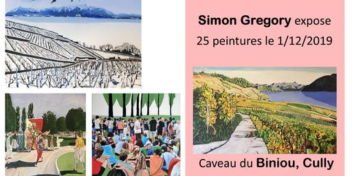 5thavenueartist Simon Gregory exhibits Contemporary Paintings