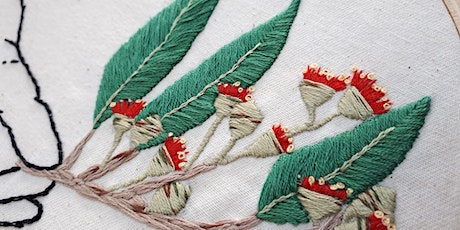 Modern Hand Embroidery Tote Bag Workshop with The Handmade Creative tickets