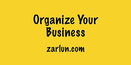 Organize Your Business Online New York - EB tickets