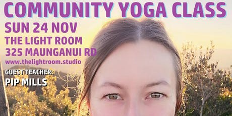 Community Yoga Class - with Pip Mills - Sun24Nov 9am - the last one!!! tickets