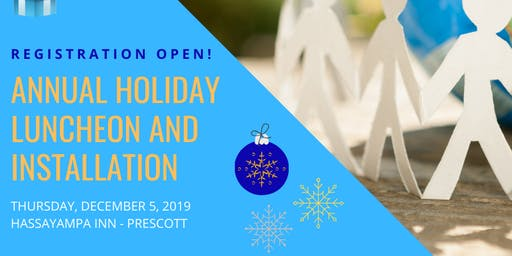 2019 Women's Council - Annual Holiday Luncheon, Recognition & Installation