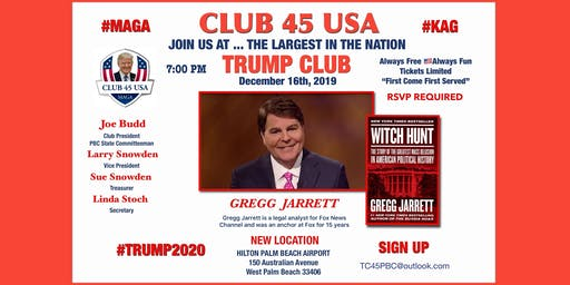 Trump Club 45 USA December 16 Meeting