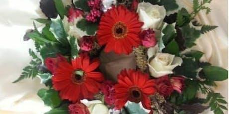 Christmas Wreath Fresh Flower Workshop tickets