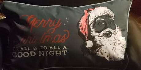 Christmas pillow cases tickets