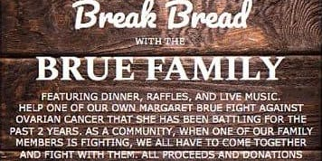 Break bread with the Brue Family