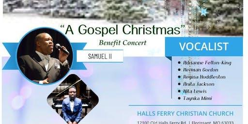 "A Gospel Christmas"" - Benefit Concert"