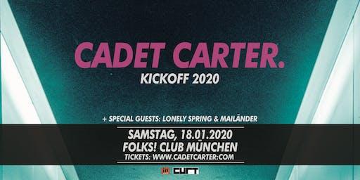 CADET CARTER Kickoff! 2020