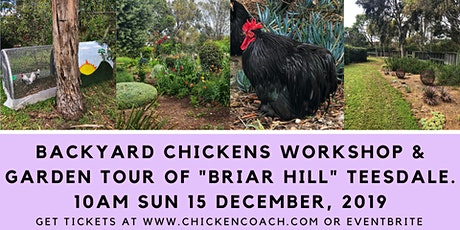 Chicken Workshop: Simple Steps to Successful Backyard Chooks tickets