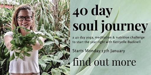 40 Day Soul Journey
