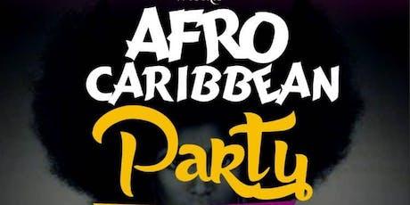 Afro Caribbean night tickets