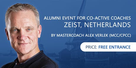 ALUMNI EVENT FOR CO-ACTIVE COACHES in Zeist tickets