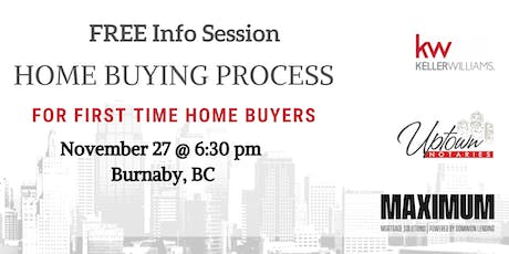 FREE First Time Home Buyer Info Session tickets
