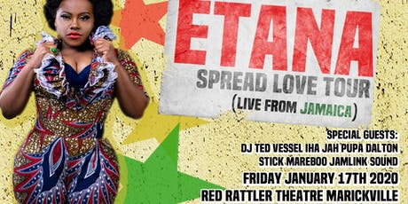 ETANA SPREAD THE LOVE TOUR tickets