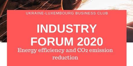 The Inaugural Ukraine – Luxembourg Industry Forum  billets