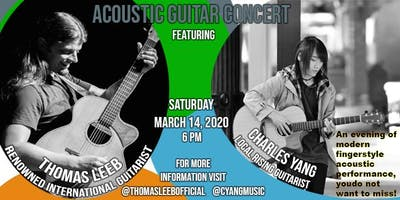 Thomas Leeb and Charles Yang Acoustic Guitar Concert