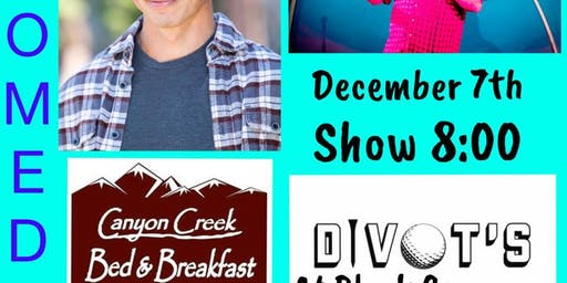 CCBB Comedy at Divot's December 7th