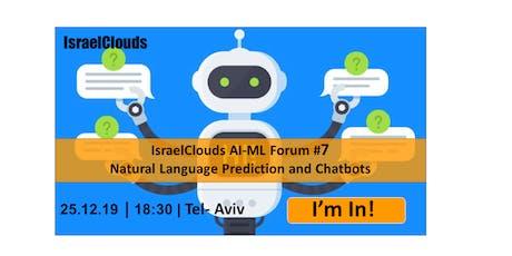 Natural Language Prediction and Chatbots billets