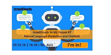 Natural Language Prediction and Chatbots tickets
