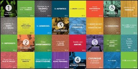 """THE CHALLENGE """"PIATTAFORMA N1 AL MONDO PER IL VIVERE SANO """" biglietti"""